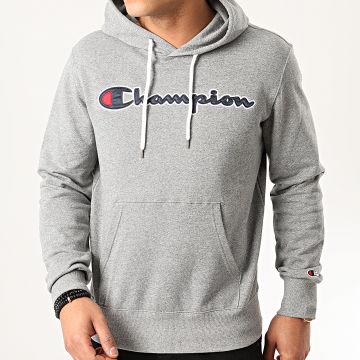 Champion - Sweat Capuche 214183 Gris Chiné