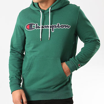 Champion - Sweat Capuche 214183 Vert