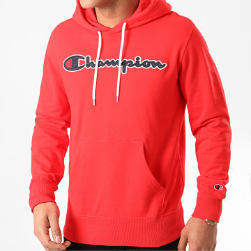 Champion - Sweat Capuche 214183 Rouge