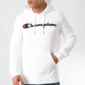 Champion - Sweat Capuche 214183 Blanc