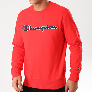 Champion - Sweat Crewneck 214188 Rouge