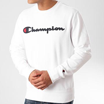 Champion - Sweat Crewneck 214188 Blanc