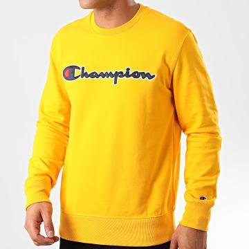 Champion - Sweat Crewneck 214188 Jaune