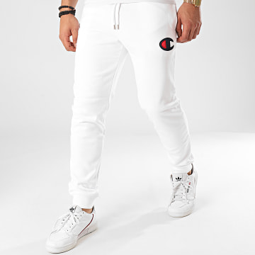 Champion - Pantalon Jogging 214191 Blanc