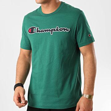 Champion - Tee Shirt 214194 Vert