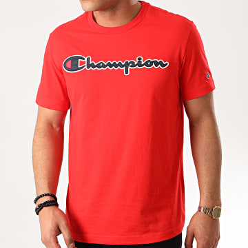 Champion - Tee Shirt 214194 Rouge