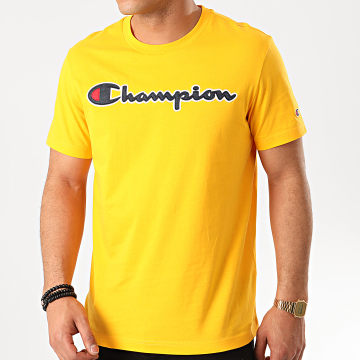 Champion - Tee Shirt 214194 Jaune
