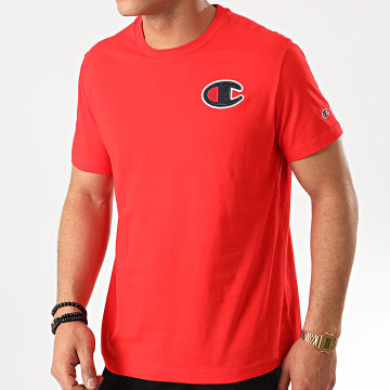 Champion - Tee Shirt 214195 Rouge