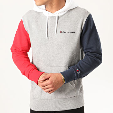 Champion - Sweat Capuche 214356 Gris Chiné