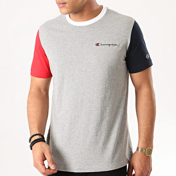 Champion - Tee Shirt 214363 Gris Chiné