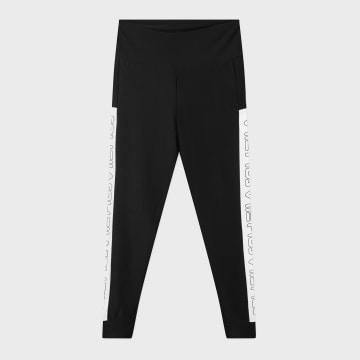 Fila - Legging Femme A Bandes Larisa 683071 Noir