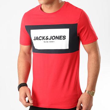 Jack And Jones - Tee Shirt Raba Rouge
