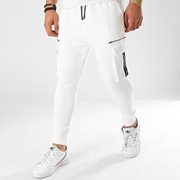 John H - Jogger Pant M670 Blanc Réfléchissant