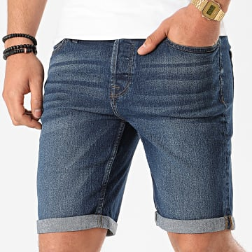 Only And Sons - Short Jean Slim Ply BLeu Denim