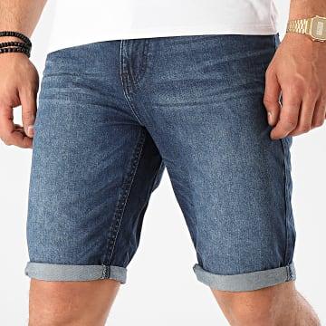 Tom Tailor - Short Jean 1016269-XX-10 Bleu Denim