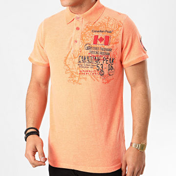 Canadian Peak - Polo Manches Courtes Kantrail Orange