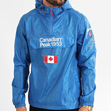 Canadian Peak - Coupe-Vent A Capuche Butaneak Bleu Roi