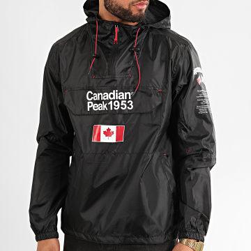 Canadian Peak - Coupe-Vent A Capuche Butaneak Noir