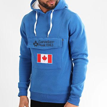 Canadian Peak - Sweat Capuche Gadreak Bleu Roi