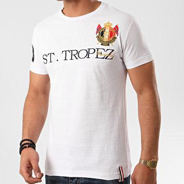 Geographical Norway - Tee Shirt Jotignac Blanc
