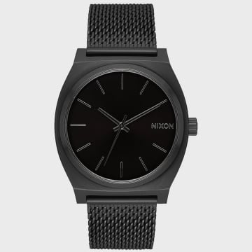 Nixon - Montre Femme Time Teller Milanese A1187-001 All Black