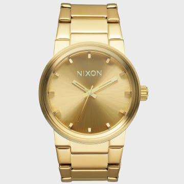 Nixon - Montre Cannon A160-502 All Gold