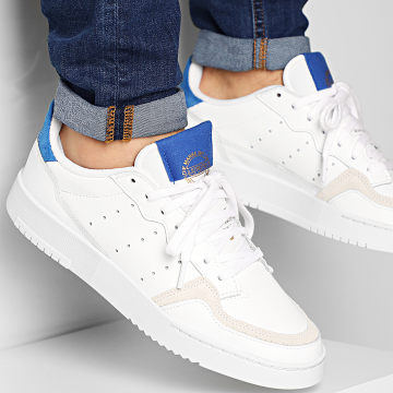 Adidas Originals - Baskets Supercourt EF5885 Cloud White Royal Blue