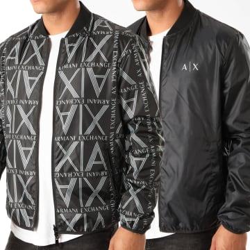 Armani Exchange - Veste Zippée Réversible Black Squared Logo 3HZB38-ZNKAZ Noir