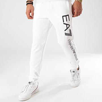 EA7 - Pantalon Jogging 8NPPC3-PJ05Z Blanc