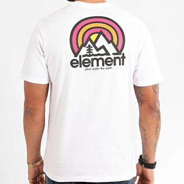Element - Tee Shirt Sonata Blanc