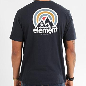Element - Tee Shirt Sonata Bleu Marine