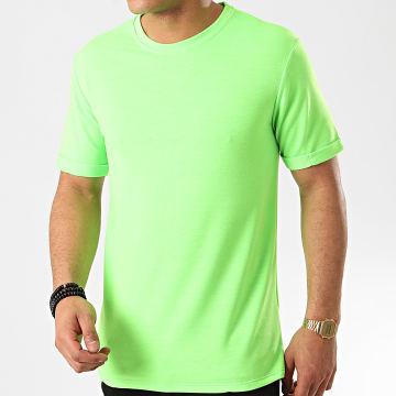 Frilivin - Tee Shirt 13817 Vert Fluo