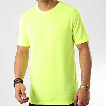 Frilivin - Tee Shirt Oversize 13817 Jaune Fluo