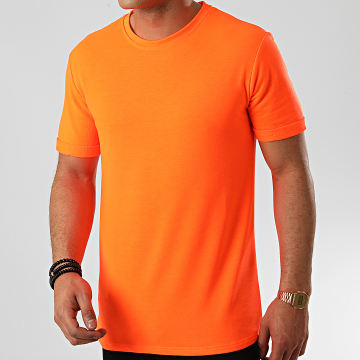 Frilivin - Tee Shirt Oversize 13817 Orange Fluo