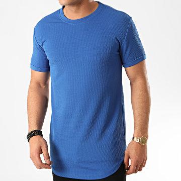 Frilivin - Tee Shirt Oversize 5423 Bleu Azur