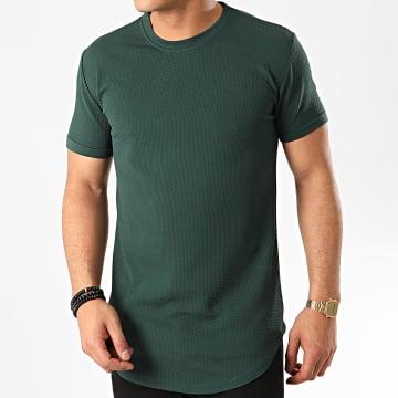 Frilivin - Tee Shirt Oversize 5423 Vert Foncé