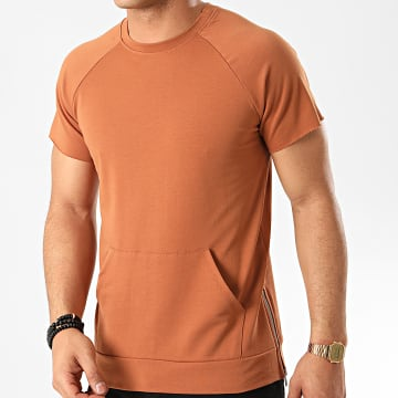 Frilivin - Tee Shirt 7174 Marron