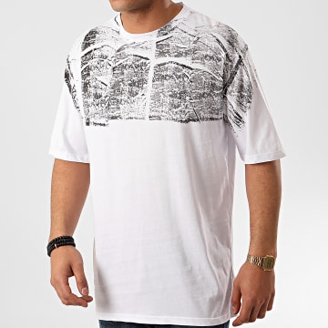 Frilivin - Tee Shirt Oversize 5396-1 Blanc