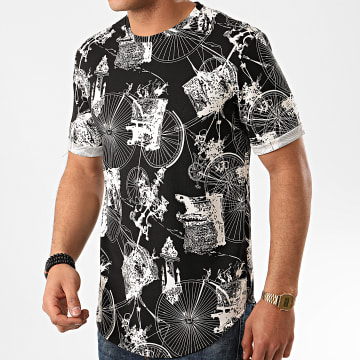 Frilivin - Tee Shirt Oversize 13813 Noir