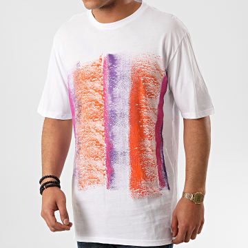 Frilivin - Tee Shirt Oversize 5396 Blanc