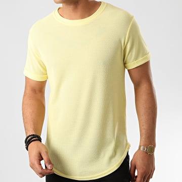 Frilivin - Tee Shirt Oversize 7241 Jaune Clair