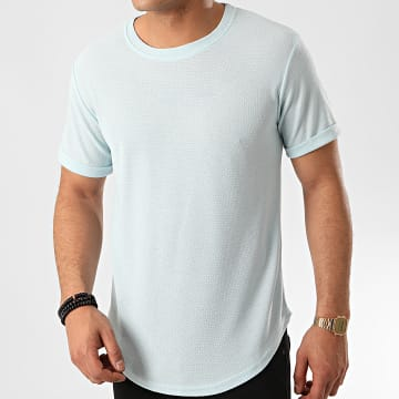 Frilivin - Tee Shirt Oversize 7241 Bleu Clair
