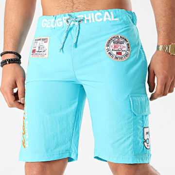 Geographical Norway - Short De Bain Quorban Turquoise