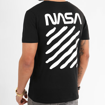 NASA - Tee Shirt Skid Back Noir