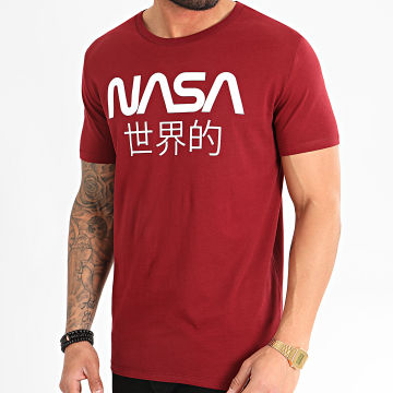 Tee Shirt Japan Bordeaux