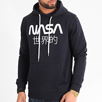 Sweat Capuche Japan Bleu Marine