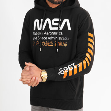 NASA - Sweat Capuche 1969 Noir