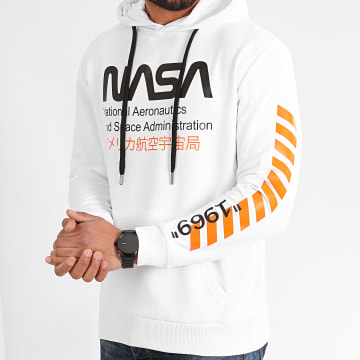 NASA - Sweat Capuche 1969 Blanc
