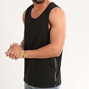 Calvin Klein - Débardeur A Bandes 0465 Noir
