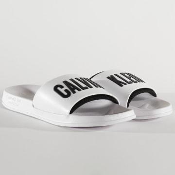 Calvin Klein - Claquettes 0495 Blanc